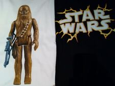 Star Wars Men Tshirt Chewbacca & Logo Lot Of 2 Sz: Large