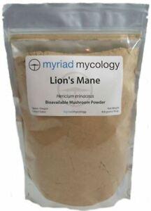 Myriad Mycology Organic Lion's Mane Mushroom Powder Hericium Erinaceus 1 lb