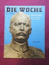 DIE WOCHE 5.1.1938 LUDENDORFF