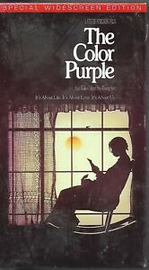 The Color Purple (VHS, 1999, Widescreen) Whoopi Goldberg BRAND NEW!!