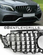 Mercedes E Class W213 C238 Grill E63 AMG Look Coupe/Cab Panamericana GTS BLACK