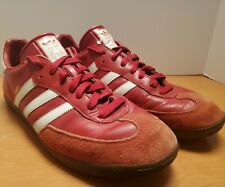 Adidas Samba Men's Size 12 Red & White Super Unique! German Labeled 👟 🎮