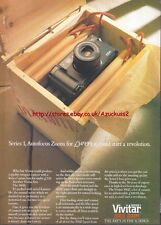 Vivitar 300Z Zoom Series 1 Camera 1988 Magazine Advert #3525