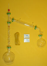 1000ml lab glassware kit,24/29,vacuum distillation kit with Vigreux column