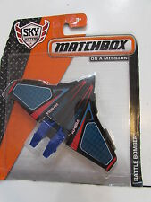MATCHBOX MBX SKY BUSTERS ON A MISSION - BATTLE BOMBER