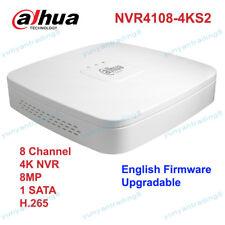 Dahua Nvr4108-4Ks2 H.265 8 Ch Smart 1U 4K&H.265 Lite Network Video Recorder Nvr