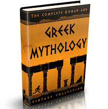 Greek & Roman Mythology - 140 Old Books on DVD - Gods Bulfinch's Achilles Plato