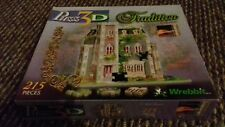 puzz 3d tradition collection 215 pieces very good condition
