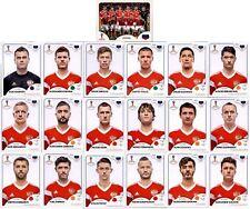 Panini WM 2018 Russia Sticker - Mannschaftspaket Russland (Sticker 33-51)