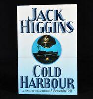 1990 Cold Harbour Jack Higgins First US Edition Signed