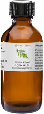 Cypress Essential Oil - 4 oz - 100% Pure and Natural - Free Shipping