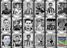 Newcastle United 1952 FA Cup winners football trading cards