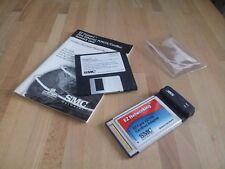 Tarjeta PCMCIA Networks Adaptador Cardbus 10/100 Mbps SMC8036TX