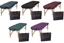 Fuerza interior E2 Mesa de masaje Paquete con reposacabezas & Case - 5 Colores A Elección