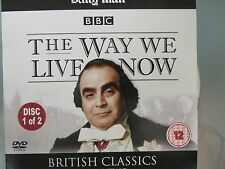 The Way We Live Now Disc 1 DVD - Anthony Trollope BBC British Classics
