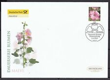 Echte Ersttagsbrief-Briefmarken aus der BRD (ab 1950) mit Blumen-Motiv