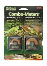 New listing Reptology Reptile Hygrometer Humidity and Temperature Sensor Gauges