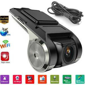 US Mini Car DVR Camera HD 1080P ADAS Video Recorder Dash Cam for Android Player