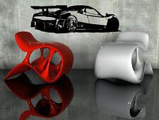 Pagani Zonda R Super Cars Wall MURAL Vinyl Art Sticker M033