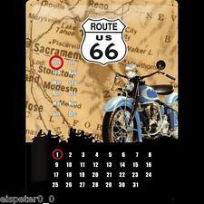 Blechschild 30 x 40, Kalender Route 66, Werbeschild Art. 20360