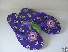 Vera Bradley Flip Flops Small - Simply Violet - New With Tags!