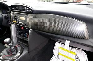 Toyota FT86 SCION FR-S GT86 86 FRS SUBARU BRZ carbon fiber dash board cover -LHD