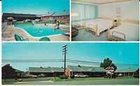 "Waynesboro VA ""Deluxe Motor Court Inc."" Motel Postcard Virginia"
