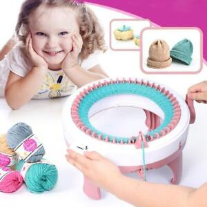 48 Needle DIY Hand Knitting Machine Weaving Loom for Scraf Hat Kid Learning Toys