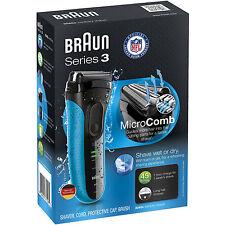 Braun MEN'S 3-FLEX FOIL SHAVER ProSkin Micro Comb Wet Dry Electric Razor 3040