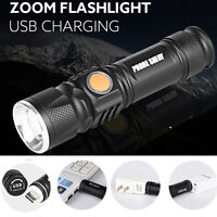 5000LM MINI USB Rechargeable LED Flashlight Outdoor Camping Hiking Torch Light