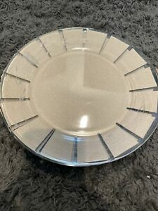"SET B 4 PRINCESS HOUSE HERITAGE 10"" Dinner Plates # 648 Tempered Crystal France"