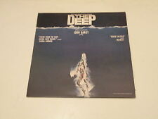 THE DEEP - LP OST JOHN BARRY 1977 CASABLANCA RECORDS W/POSTER ITALY - NM/EX--