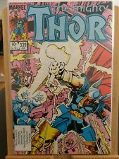 Thor issue 339. 1st Appearance Of Stormbreaker. Marvel Comics