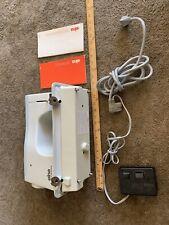 Vintage 70's Elna SU 64C Tavaro Sewing Machine W/Foot Pedal Geneva Switzerland
