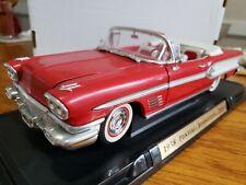 Road Signature Pontiac 1958 Bonneville 1:18 Scale Die Cast e