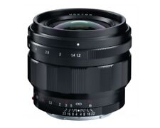 Voigtlander 50mm f1.2 Nokton Aspherical E-Mount Lens
