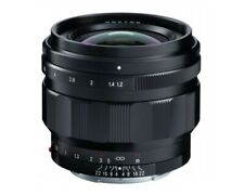 Voigtlander 50mm f1.2 Nokton Aspherical E-Mount Lens