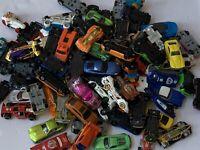 HUGE Lot Of Toy Diecast Cars Hot Wheels Maisto Mattel Metal Vintage Bulk Bundle