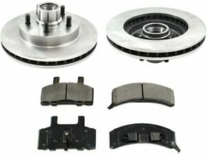 Front Brake Pad and Rotor Kit For 88-94 Chevy GMC C1500 ZW61K1