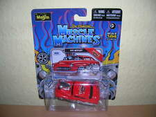 MAISTO MUSCLE MACHINES 1949 Mercury Red Exhibition Model Toy Fair 2013, 1:64