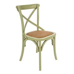 Wooden Chair David Green Color