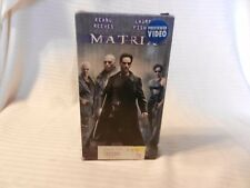 The Matrix (VHS, 1999) Keanu Reeves, Laurence Fishburne