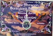 New Monsoon and Honkytonk Homeslice 2006 Concert POSTER