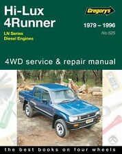 Gregorys Service Repair Manual Toyota Hilux 4Runner Diesel LN 1979-1997 WORKSHOP