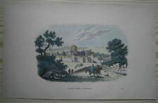 1843 Breton print DOME OF THE ROCK (MOSQUE OF OMAR), JERUSALEM (#66)