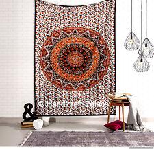 Estrella DOBLE Hippie Mandala Tapiz India Colcha étnico bohemio colgante de pared