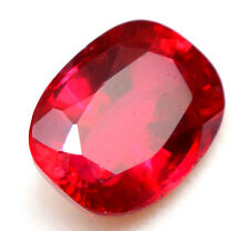 13.35 Ct Natural Pigeon Blood Red Mozambique Ruby GGL Certified Oval Cut Gem