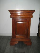 Mahogany Antique Style Bedside Tables & Cabinets
