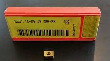 Sandvik N331.1A-05 45 08H-PM 4030 NEW Carbide Inserts 2 pcs