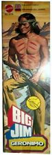 BIG JIM ☆ GERONIMO ECONOMICO ☆'77 #2179 - PRODUZIONE EUROPA - ► NEW ◄ REPROBOX2